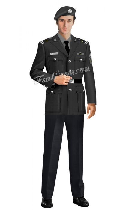 值班保安工作服