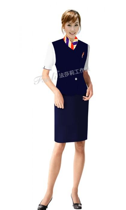 航空工作服裙装搭配