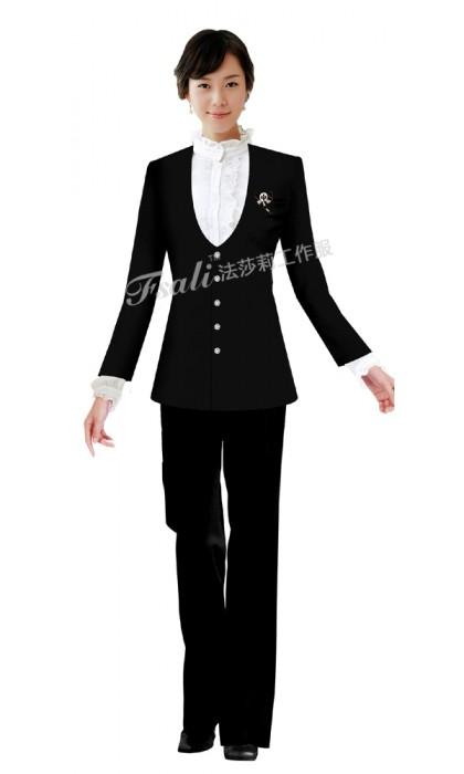 西餐厅领班制服图片