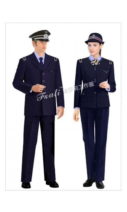 工厂保安制服图片