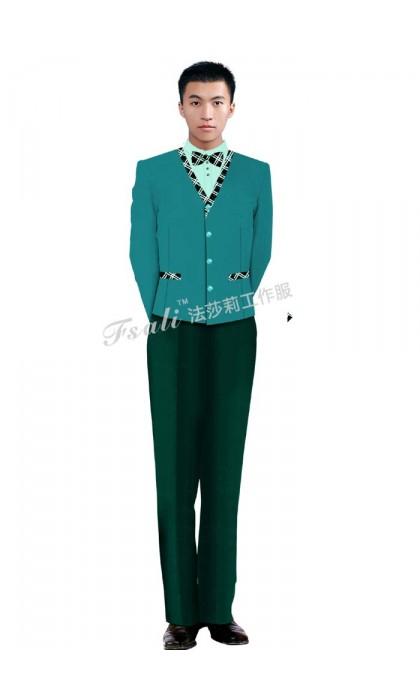 桑拿服务员制服款式