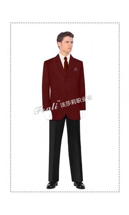 公交制服西服
