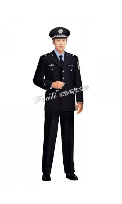 执法制服男装图片