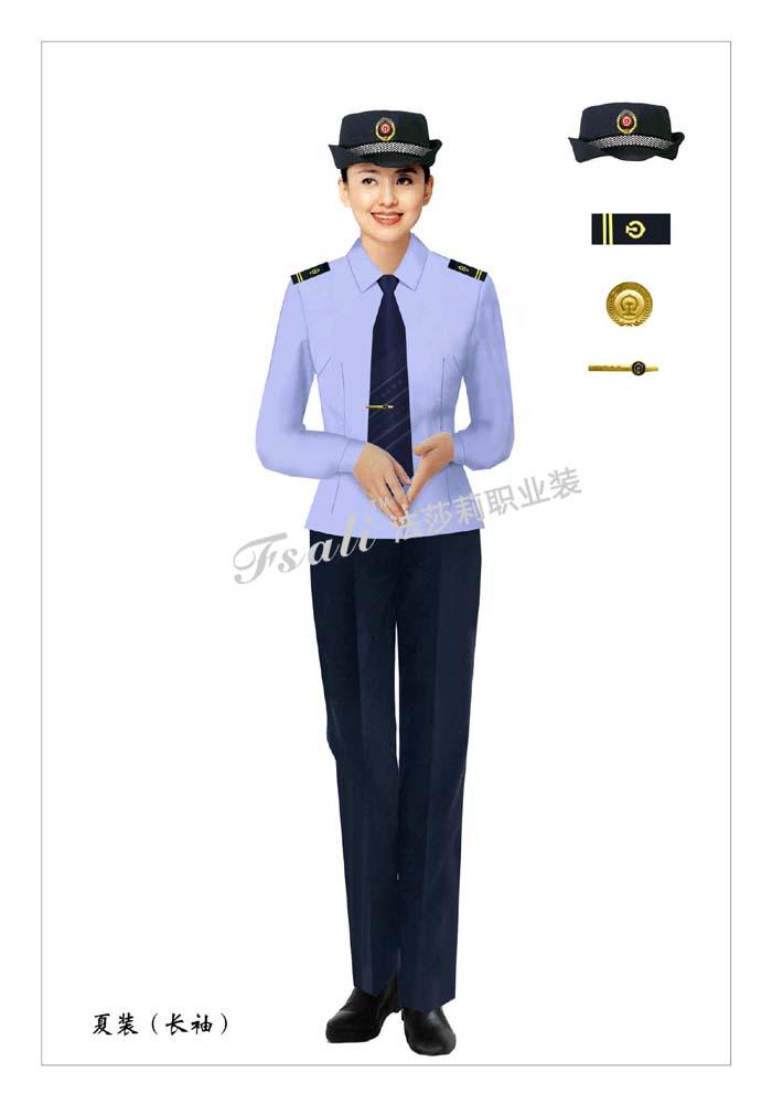 执法制服女装款式