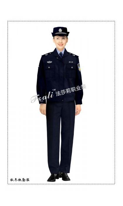 执法制服女装图片