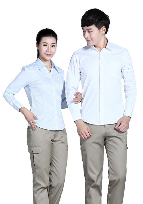 长袖衬衫职业装
