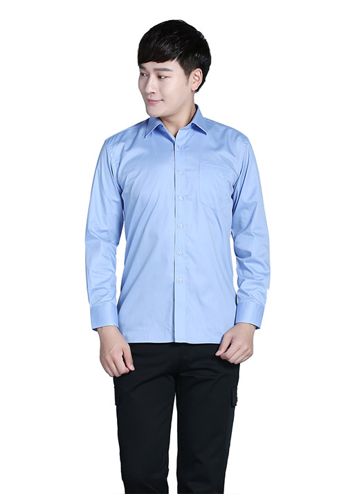 职业装长袖衬衫