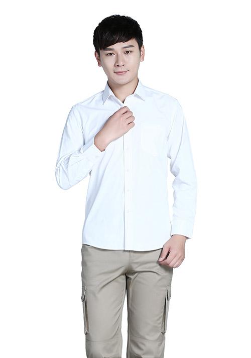 职业装长袖衬衫1