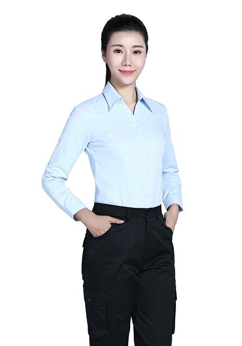 女时尚长衬衫