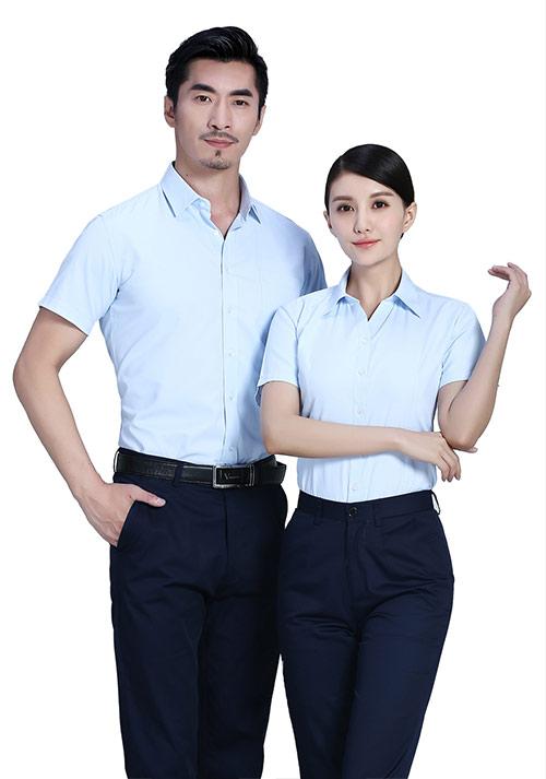 时尚短衬衫