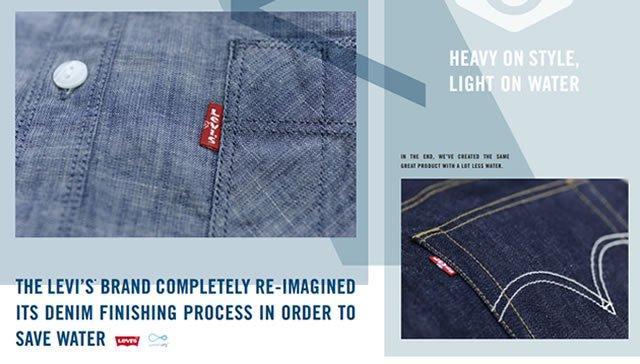 减少污染成时尚行业新命题,Levi's用的招绿色环保