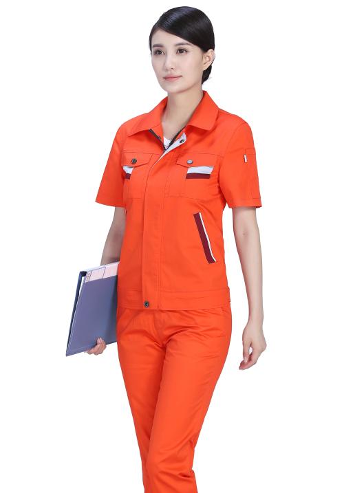 办公室工作服短袖款1