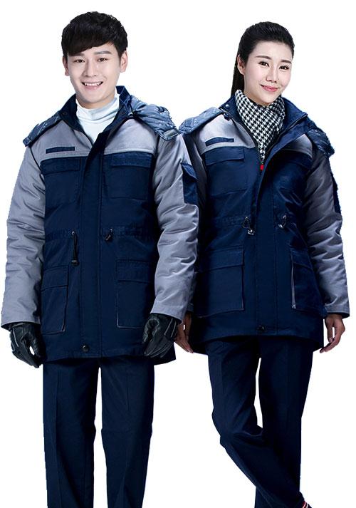 防寒冬季工作服定制2
