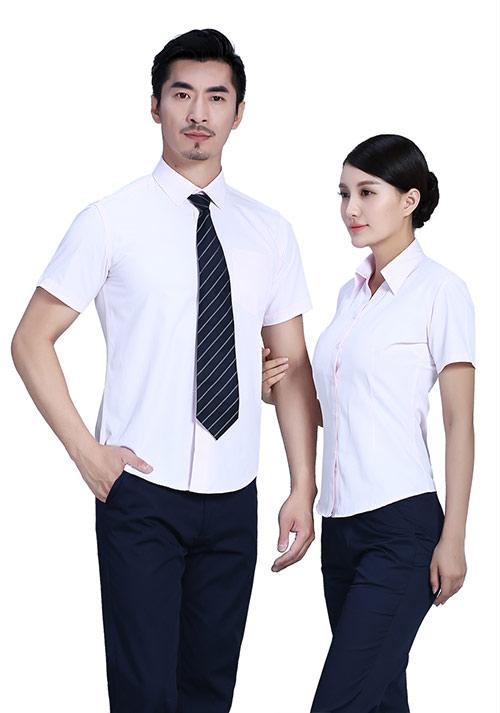 职业装短袖衬衫图片