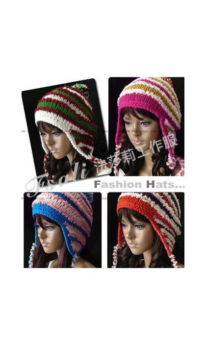 冬天的棉帽应该怎么戴