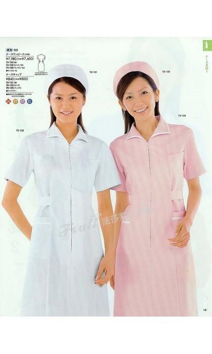 护士服装的颜色之分