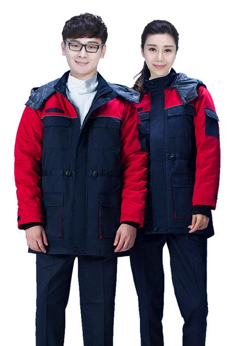 北京定制棉袄之工作服棉袄男装的三大特点