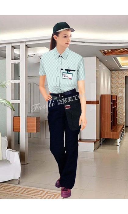 北京定制家政服务员服装告诉您家政服务员应穿什么样的工作服