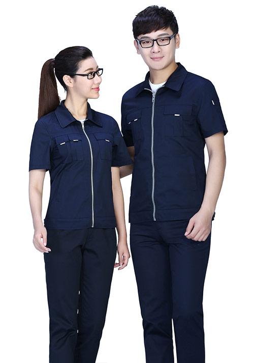 北京定做工厂制造工作服之工作服颜色搭配技巧