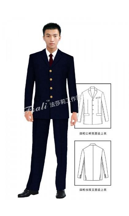 北京超市营业员工作服定制—定制夏季短袖工作服需要注意什么
