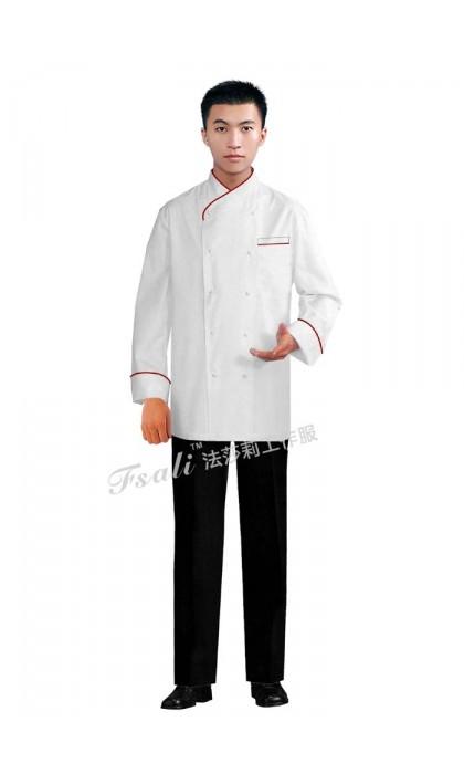 北京定制行政总厨工作服需要哪些辅料