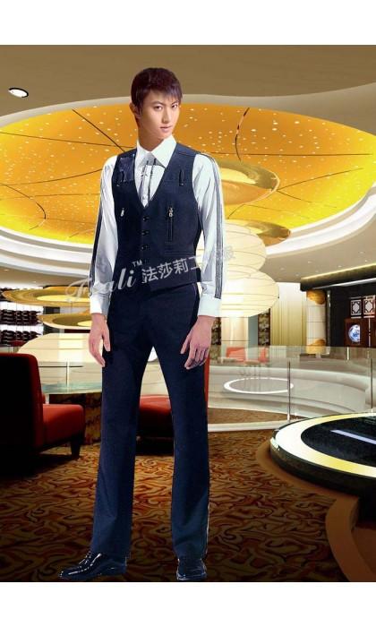 北京迪吧咨客工作服定制之工作服和时装的区别