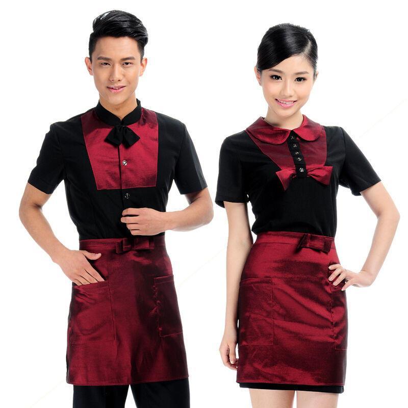 2018酒店服务员北京定制传菜服务员服装款式特征