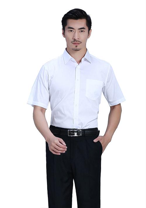 三种颜色订制衬衫搭配方式