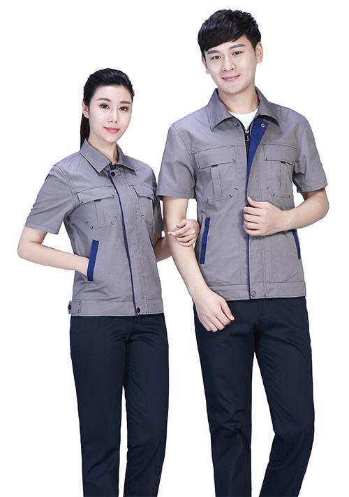 厂服 工厂半袖服装