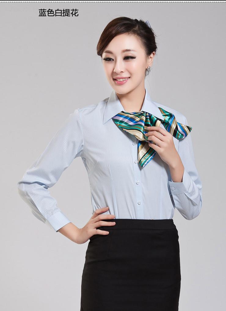 如何把一套工作服穿得得体漂亮?